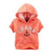 Baby B'gosh® Short-Sleeve Pullover Hoodie - Baby Boys newborn-24m