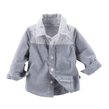 jcpenney.com | Baby B'gosh® Button-Front Shirt - Baby Boys newborn-24m