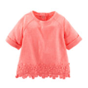 Baby B'gosh® Neon Crocheted Top - Baby Girls newborn-24m