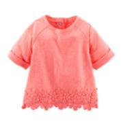 Baby B'gosh® Neon Crocheted Top - Baby Girls newborn-24m