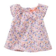 Baby B'gosh® Flutter-Sleeve Babydoll Top - Baby Girls newborn-24m
