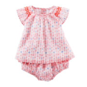 Baby B'gosh® Heart-Print Babydoll Set - Baby Girls newborn-24m