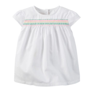 jcpenney.com | Carter's® Embroidered Top - Preschool Girls 4-6x