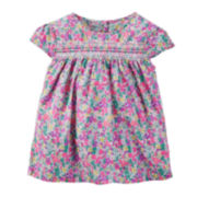 Carter's® Floral Print Top - Preschool Girls 4-6x