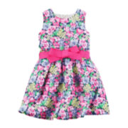 Carter's® Floral Print Sleeveless Dress - Preschool Girls 4-6x