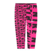 Nike® Pink Drift Capris - Preschool Girls 4-6x