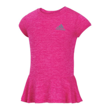 jcpenney.com | adidas® climalite® Spin Top - Preschool Girls 4-6x