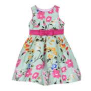 Marmelatta Floral Princess Dress - Girls 7-12