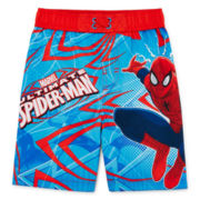 Spider-Man Swim Trunks - Toddler Boys 2t-5t