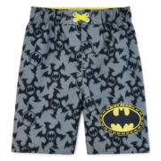 Batman Swim Trunks - Toddler Boys 2t-5t