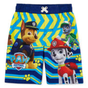 Paw Patrol Swim Trunks - Toddler Boys 2t-4t