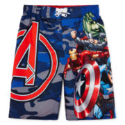 Avengers Swim Trunks - Preschool Boys 4-7