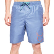 Nike® Camotion Embossed Swim Trunks
