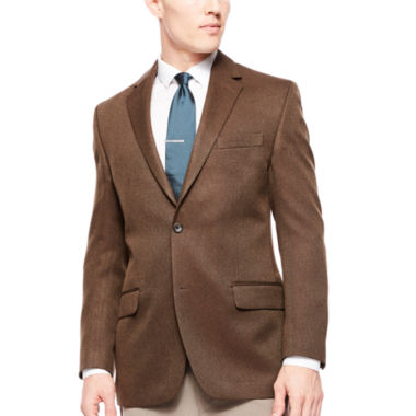 jcpenney.com | Izod® Brown Basketweave Sport Coat - Classic Fit