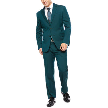 jcpenney.com | JF J. Ferrar® Teal Suit Separates - Slim-Fit