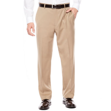 jcpenney.com | Stafford® Travel Super Flat-Front Dress Pants - Classic Fit