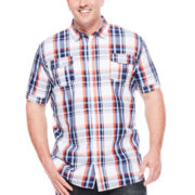 I Jeans by Buffalo Miles Short-Sleeve Woven Shirt - Big & Tall