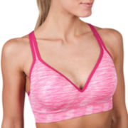 Jockey® Space-Dyed Seamless Molded-Cup Sports Bra