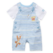 Disney Baby Collection Winnie Pooh Dungaree Set - Baby Boys newborn-24m