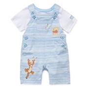 Disney Baby Collection Winnie Pooh Dungaree Set - Baby Boys newborn-24m