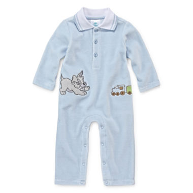 jcpenney.com | Disney Baby Collection Lady and the Tramp Romper - Baby Boys newborn-0-24m
