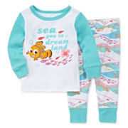 Disney Baby Collection 2-pc. Nemo Pajama Set - Baby Girls newborn-24m