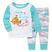Disney Baby Collection 2-pc. Nemo Pajama Set - Baby Girls newborn-24m