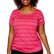 Made for Life™ Shirred Side Melange Tunic - Plus
