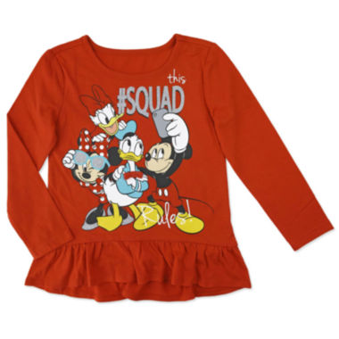 jcpenney.com | Disney By Okie Dokie Minnie Mouse Graphic T-Shirt-Preschool Girls
