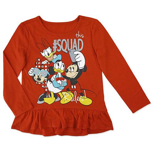 Disney By Okie Dokie Minnie Mouse Graphic T-Shirt-Preschool Girls
