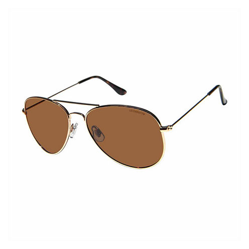 Liz Polarized Aviator Aviator UV Protection Sunglasses