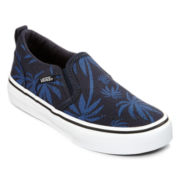 Vans® Asher Boys Slip-On Skate Shoes - Little Kids