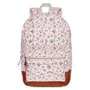 Olsenboye® Floral Ditsy Print Dome Glitter Backpack