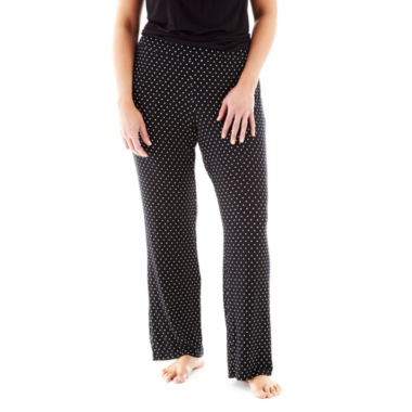 jcpenney.com | Ambrielle® Knit Pajama Pants - Plus