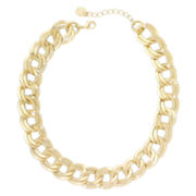 Monet® Gold-Tone Link Collar Necklace