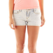 Arizona Denim Clean-Hemmed Shorts