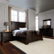 Providence 5-pc. Panel Bedroom Set in Antique Espresso