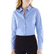 Liz Claiborne® Long-Sleeve Woven Shirt