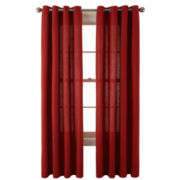 JCPenney Home™ Holden Grommet-Top Cotton Curtain Panel