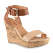 Call it Spring™ Lovon Ankle-Strap Wedge Sandals