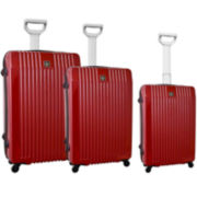 Verticals 3-pc. Hardside Luggage Spinner Upright Set