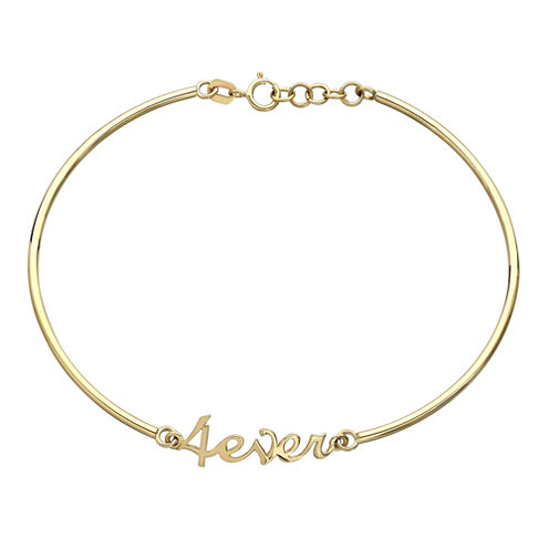 10K Yellow Gold 4ever Bracelet