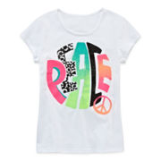 Total Girl® Short-Sleeve Graphic Tee – Girls 7-16 and Plus