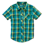 Arizona Short-Sleeve Plaid Shirt – Boys 2t-5t