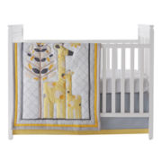 NoJo® 4-pc. Safari Giraffe Crib Bedding Set