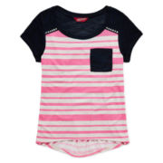 Arizona Short-Sleeve Stud Tee – Girls 7-16 and Plus