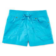 Arizona Camp Shortie Shorts - Girls 7-16 and Plus