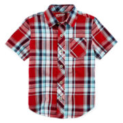 Arizona Plaid Shirt - Preschool Boys 4-7