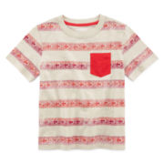 Arizona Short-Sleeve Striped Tee - Boys 4-7