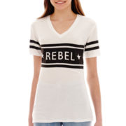 City Streets® Short-Sleeve Tunic Tee